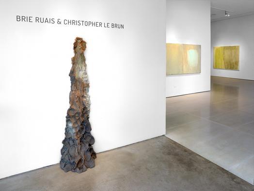 Brie Ruais   Christopher Le Brun opens at McClain...