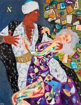 Arabian Dream A•N, 2015 acrylic on canvas 46...