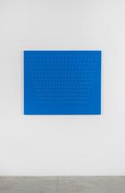 Tess Jaray [British, b. 1937] Azure Blue, 2001 Oil...