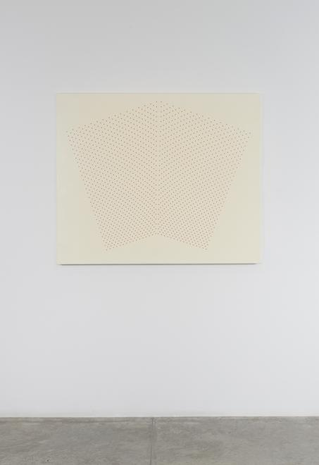 Tess Jaray [British, b. 1937] Cream With Red, Open...