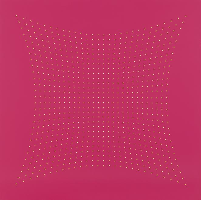 Tess Jaray [British, b. 1937] Galla Placidia - Pin...
