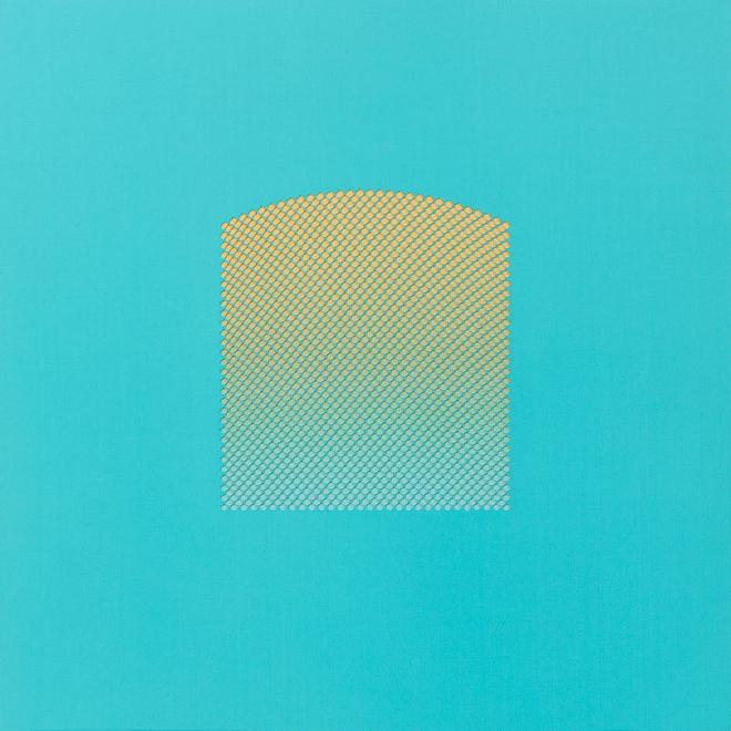 Tess Jaray [British, b. 1937] Window Turquoise, 20...