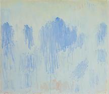 Christopher Le Brun [British, b.1951] White Blue W...