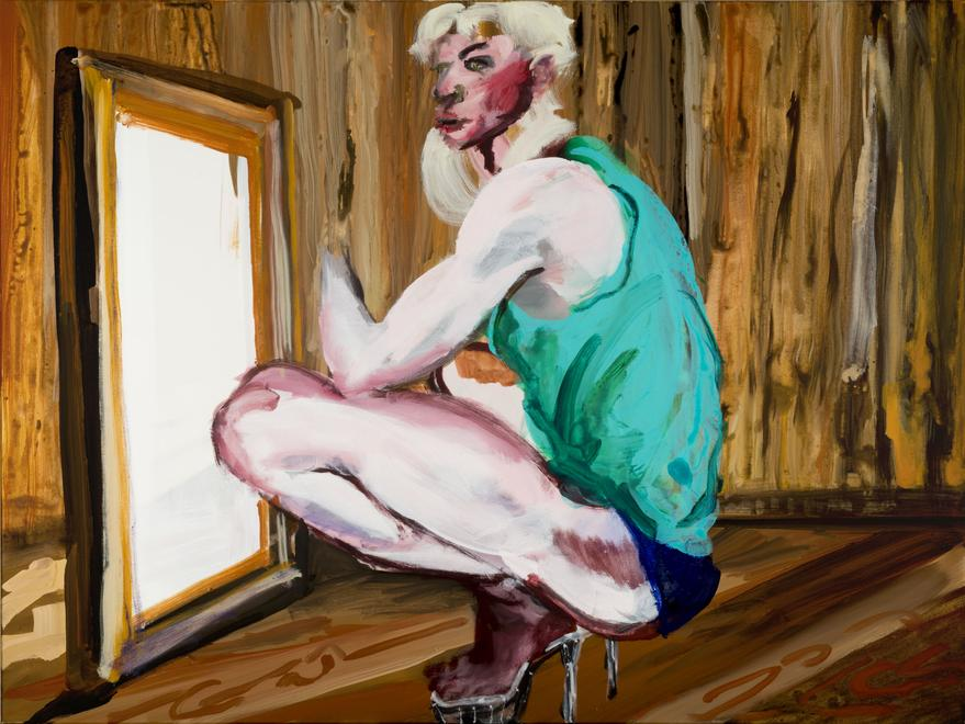 Rainer Fetting Drag (Ilko), 2016 Acrylic on canvas...