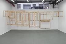 Fiete Stolte Studio View, 2017 Wood, metal hardwar...