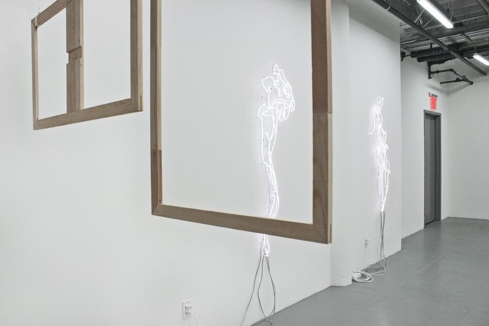 Fiete Stolte:Transit.Installation view...