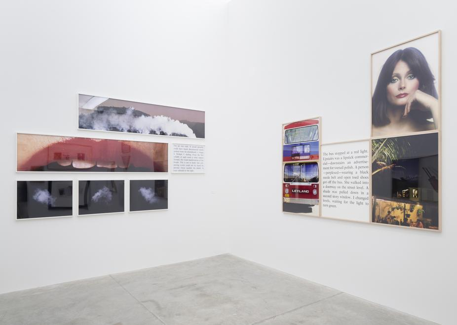 Installation view, Bill Beckley 1968 - 1978: The A...