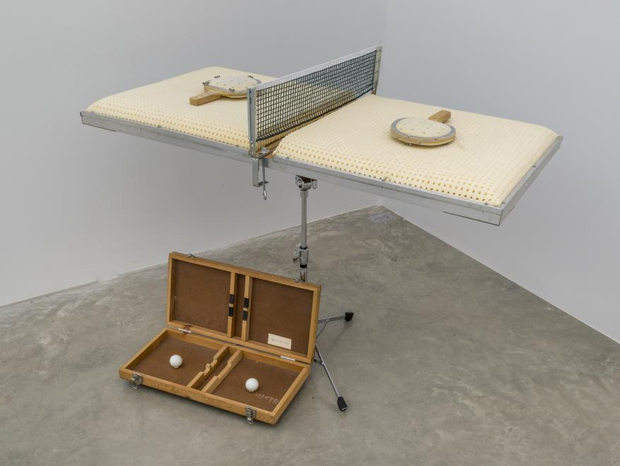 Silent Ping-Pong, 1971 Foam, aluminum, plywood, st...