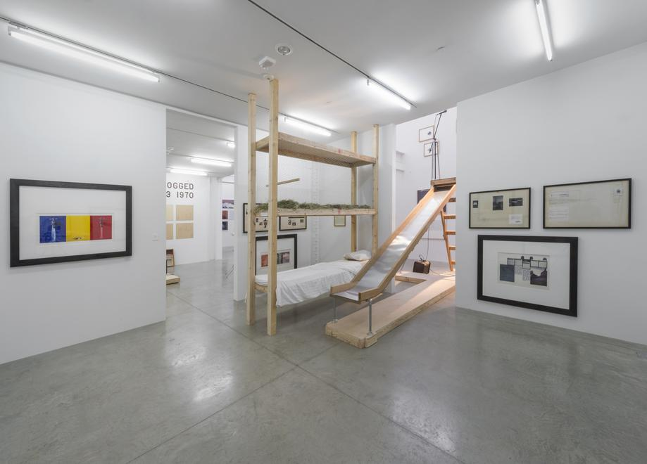 Installation view, Bill Beckley 1968 - 1978:...