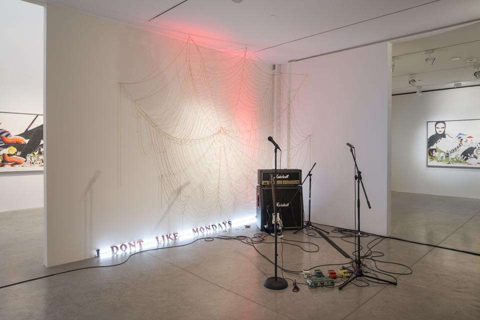 Jen Ray: Deep Cuts Installation View,Albertz...
