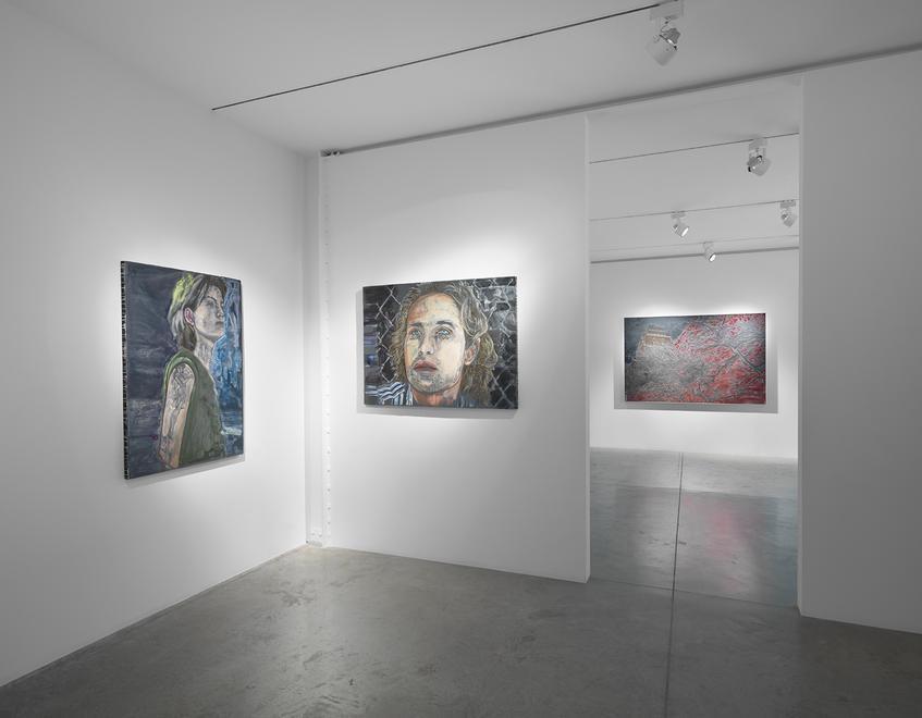 Ena Swansea: New Paintings (installation image).&n...