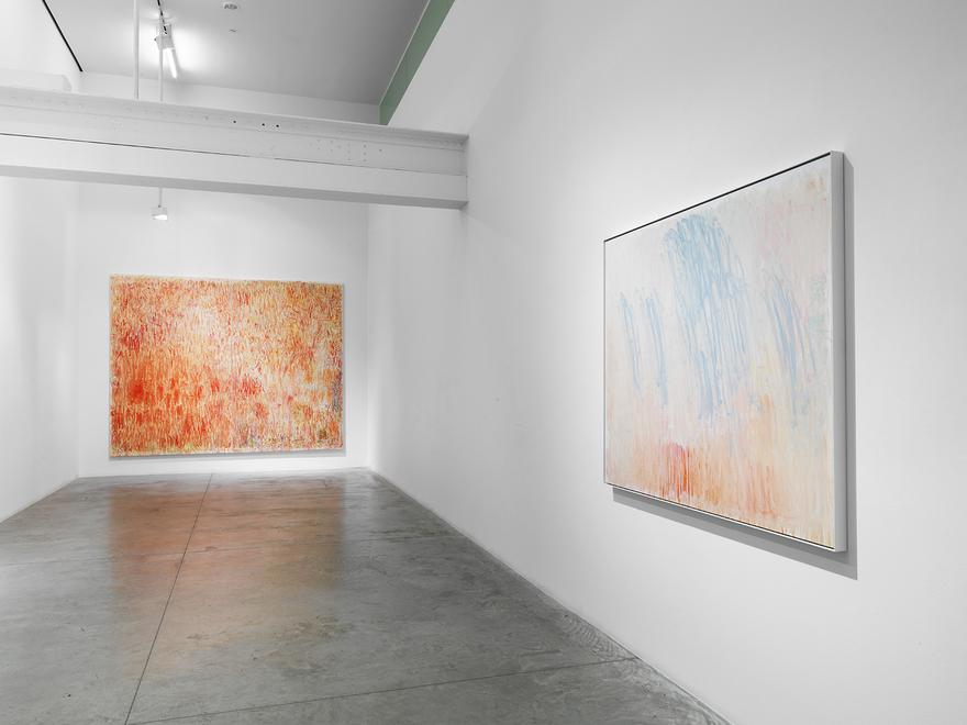 Christopher Le Brun: Composer. Installation view....