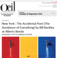 New York: The Accidental Poet (The Avoidance of Ev...