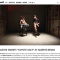 "Agatha Snow's ""Coyote Ugly"" at Albertz Benda"