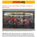 Exhibition of new work by Filipino artist Jigger C...