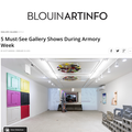 5 Must-See Gallery Shows During Armory Week