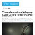Three-dimenstional Allegory: Lucia Love's Reflecti...