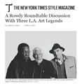 A Rowdy Roundtable Discussion With Three L.A. Art...