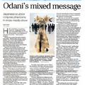 Odani's Mixed Message
