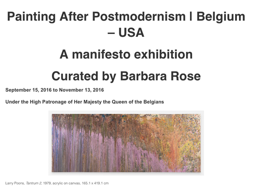 Ed Moses featured in Painting After Postmodernism,...