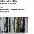 Ed Moses: A Mark Saying I Was Here