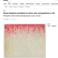 Royal Academy president to show new compositions i...