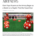 Giant Yayoi Kusama at the Armory Began as a Sketch...