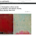 Review: Christopher Le Brun at the Gallery at Wind...