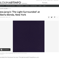 Tess Jaray's 'The Light Surrounded' at Albertz Ben...
