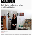 Del Kathryn wins Archibald Prize