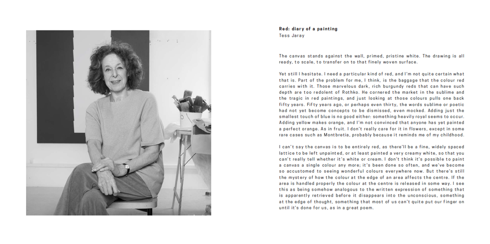Tess Jaray: The Light Surrounded - Publication