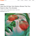 Here Are 25 New York Gallery Shows That You Need t...