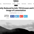 A Family Reduced to Ash: TR Ericsson and the Image...