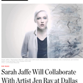 Sarah Jaffe Will Collaborate With Artist Jen Ray a...