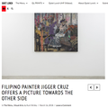 Filipino Painter Jigger Cruz Offers a Picture Towa...