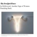 In Hollywood, Another Sign of Women Punching Back