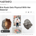 Brie Ruais Gets Physical with Her Material
