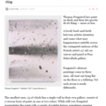 Review: Thomas Fougeirol slathers on thick paint a...