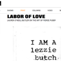 LABOR OF LOVE LAUREN O'NEILL-BUTLER ON THE ART O...