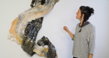 Brie Ruais discusses works from her 'Interwove...