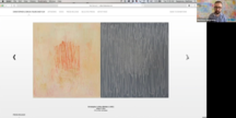 Artist Christopher Le Brun and Matthew Hargraves,...