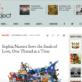 Sophia Narrett Sews the Seeds of Love, One Thread...