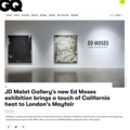JD Malat Gallery's new Ed Moses exhibition bring...