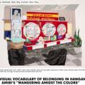 The Visual Vocabulary of Belonging in Hangama Amir...