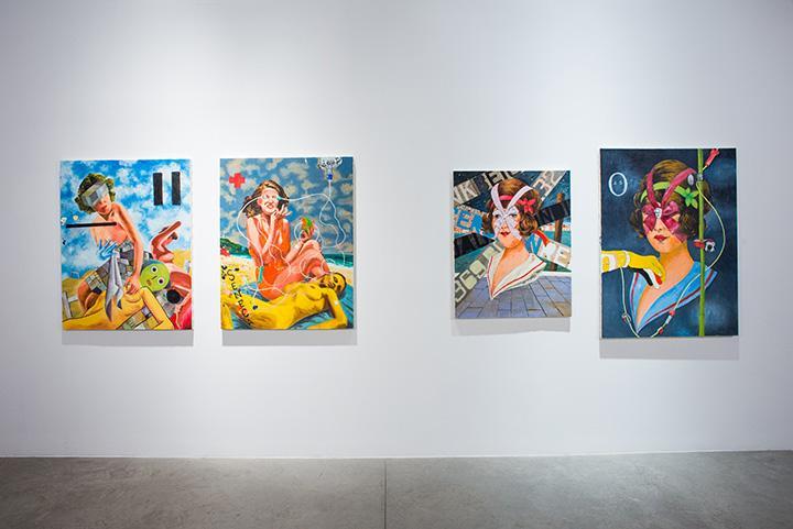 Installation view:Tadanori Yokoo: Death and...
