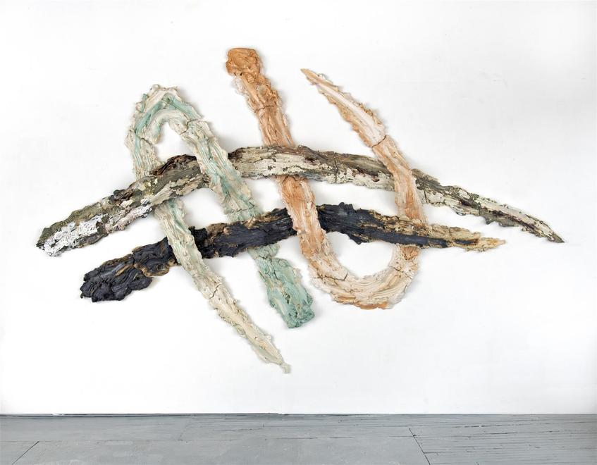 Brie Ruais Weaving the Landscape (four times 130lb...